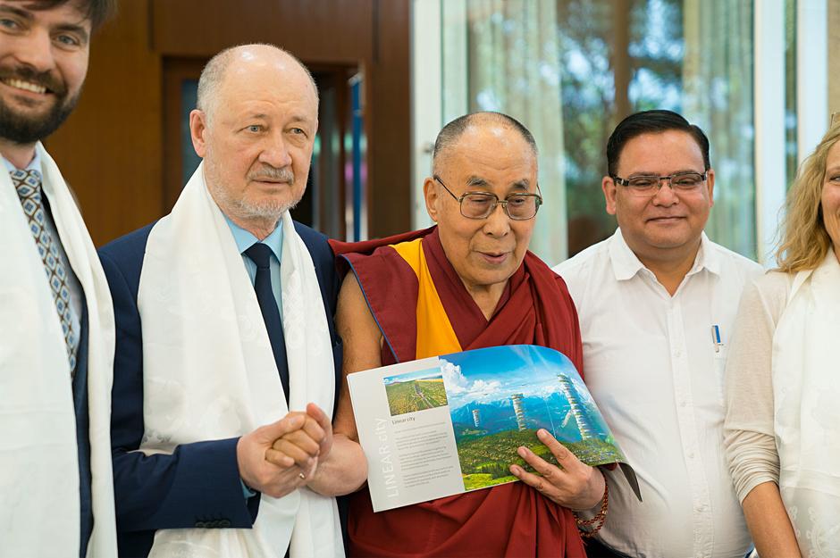 Далай-Лама и Анатолий Юницкий